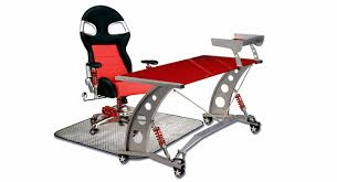 Auto Office Desk It S A Racing World Auto Inspired Office Furniture Carscoops