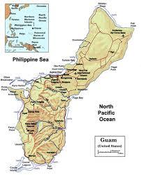 Map Of Guam Location