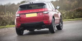 red range rover land rover range rover evoque review carwow