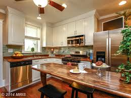 kitchen in hampden rowhouse baltimore md kitchens and baths
