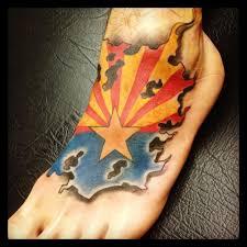 Az State Flag Arizona Flag Tattoo By Goeke Yelp