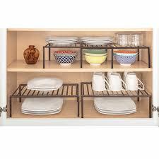 kitchen cabinet storage canada smart design premium cabinet storage extendable shelf set of 2