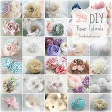 how to make baby headbands with flowers feather flower tutorials paper flower how to make fabric flowers