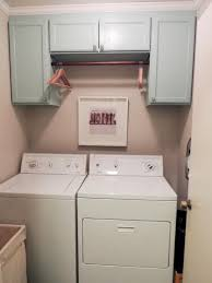 Laundry Room Cabinets With Hanging Rod Laundry Cabinet With Hanging Rod Seeshiningstars