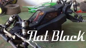 how to paint rc bodies flat matte black youtube