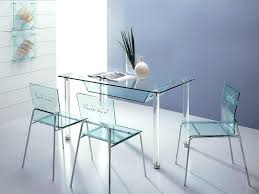 Plastic Tables And Chairs Clear Acrylic Dining Room Chairs Glass Table Lucite Set Galaxy