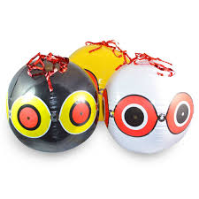 Scare Birds Away From Patio by Visualscare Scary Eye Bird Scare Balloon 3 Pack U2013 Aspectek