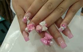 50 stylish bow nail art designs nail design ideaz
