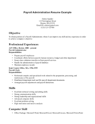 Clerical Resumes Payroll Clerk Resume Sle 28 Images Best Payroll Specialist