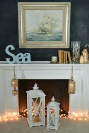 kitchen mantel ideas decorations coastal mantel decorating ideas coastal