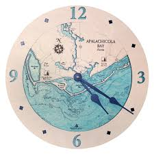 Apalachicola Florida Map by Apalachicola Bay Clock Florida Bodies Of Water