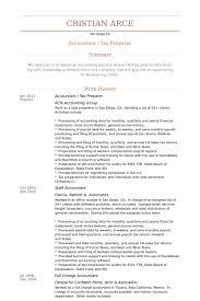 Tax Preparer Job Description For Resume by Tax Preparer Resume Samples Visualcv Resume Samples Database