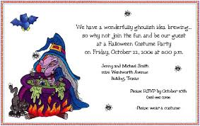 party invitations free halloween party invitation wording detail