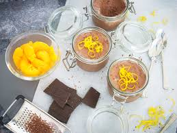 chocolate orange pots recipe the ideas kitchen
