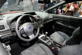 2015 subaru wrx engine all new 2015 subaru wrx debuts in l a with 268hp 2 0 liter turbo