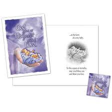 god u0027s greatest gift christmas card and magnet christian