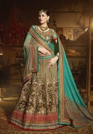engagement lengha lenghas for engagement buy online india mehndi green indian lengha