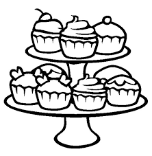 cute cupcake coloring pages cupcakes netart part 2