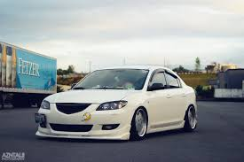 lowered cars the korean mail man u2013 mazda fitment