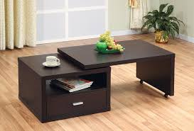 coffee table extendable top extendable coffee table design great home references expandable