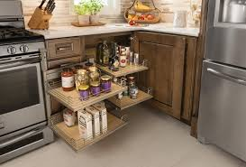 Schuler Kitchen Cabinets Schuler Cabinets Base Blind Corner Cabinet With Full Access Trays