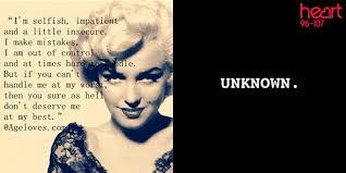 Marilyn Monroe Meme - marilyn monroe the best quotes she never said heart