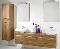 Zola Bathroom Furniture 1200mm Severn Walnut Wall Mounted Storage Cabinet Bathroom