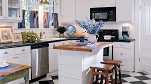 White And Black Kitchen Designs by Kitchen Inspiration Southern Living