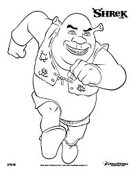 shrek 9 shrek coloring pages coloring for kids