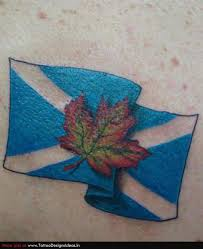 scottish flag tattoo design photos pictures and sketches
