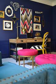 hannen matt u0027s rustic glam home office office tour sayeh