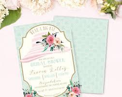 big hat brunch invitations big hat bridal shower invitation printable lavender lilac