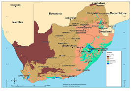 africa map climate zones stepsa spatial temporal evidence for planning in south africa
