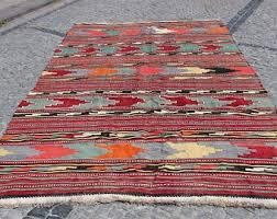 Large Kilim Rugs Turkish Kilim Rug Etsy