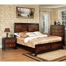 walnut bedroom furniture walnut finish bedroom sets for less overstock com