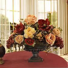 artificial floral arrangements large silk flower arrangements