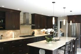 kitchens with dark cabinets kitchen backsplashes with dark cabinets fitnessarena club