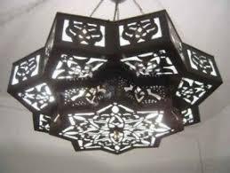 Morrocan Chandelier Moroccan Star Lamp Foter