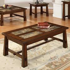 mission style coffee table light oak mission style coffee table with drawers within decor 6 themodjo com