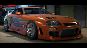 toyota supra modified toyota supra sz r 1997 modified nfs2015 sound youtube