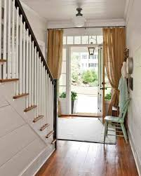 Front Door Window Curtain Best 25 Front Door Curtains Ideas On Pinterest Door Curtains