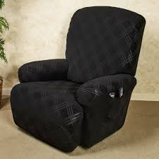 double diamond stretch jumbo recliner slipcovers