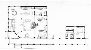 house plans with attached guest house home architecture house plan with view in back extraordinary