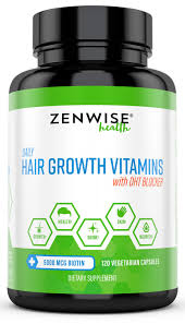 hair growth vitamins u0026 dht blocker 120ct u2013 zenwise health
