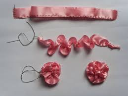 learn dress making and designing how to make ribbon flowers