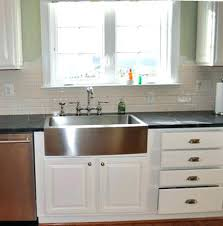 Stainless Steel Apron Front Kitchen Sinks Kohler Farmhouse Sink Apron Front Sinks Kohler Whitehaven