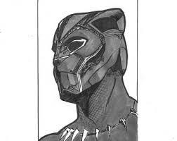 black panther mask etsy