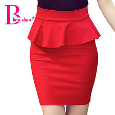 pencil skirts 2018 plus size women pencil skirts ruffles 2017 summer fashion
