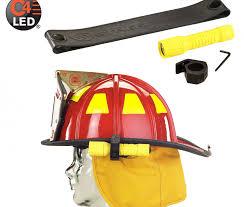 streamlight firefighter helmet light anclotefire com streamlight polytac led helmet lighting kit