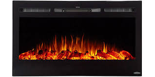 Realistic Electric Fireplace Logs by Touchstone 80002 Ivory Wall Mounted Electric Fireplace 50